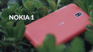 Nokia 1, Adroid 8.1